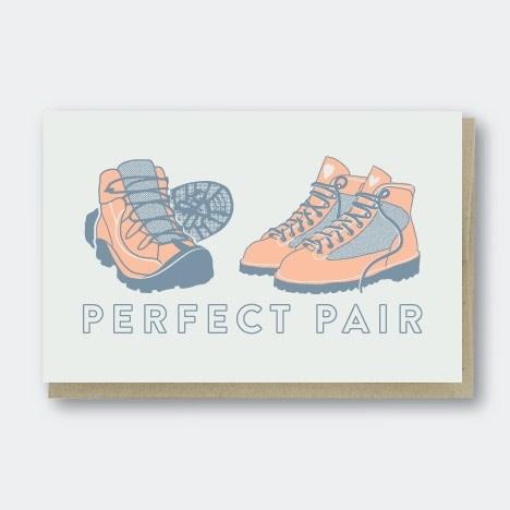Pike Street Press - PSP Perfect Pair Hikers Card