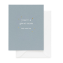 Sugar Paper - SUG You're a Great Mom Card