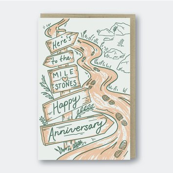 Pike Street Press - PSP Milestone Anniversary Card