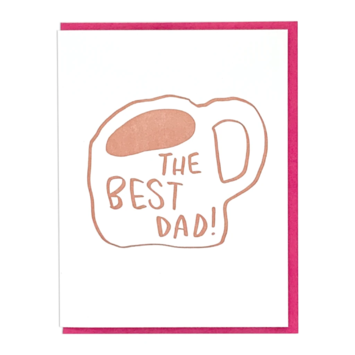 and Here We Are - AHW Dad Mug Card