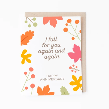 Graphic Anthology - GRA Fall For You Anniversary Card