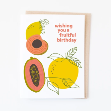 Graphic Anthology - GRA Fruitful Birthday Card