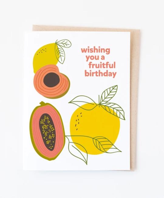 Graphic Anthology - GRA Fruitful Birthday Card