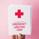 Graphic Anthology - GRA Emergency Greeting Card