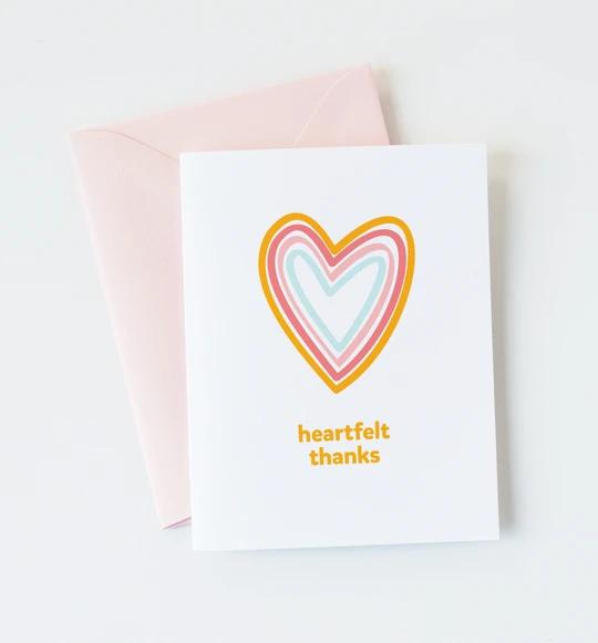 Graphic Anthology - GRA Heartfelt Thanks Card