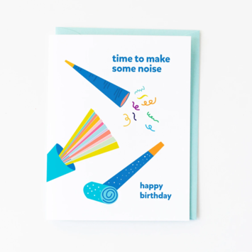 Graphic Anthology - GRA Make Some Noise Birthday Card