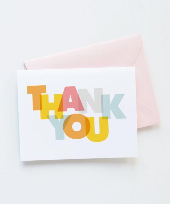 Graphic Anthology - GRA Modern Thank You Card