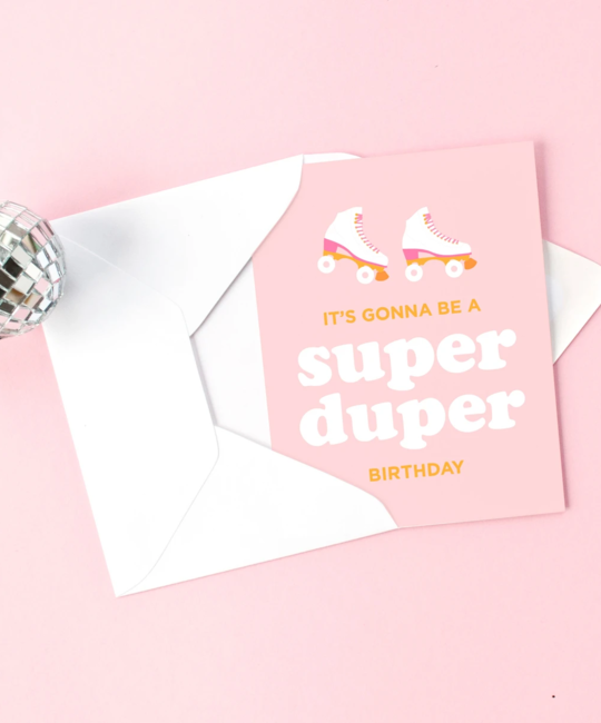 Graphic Anthology - GRA Super Duper Birthday Card