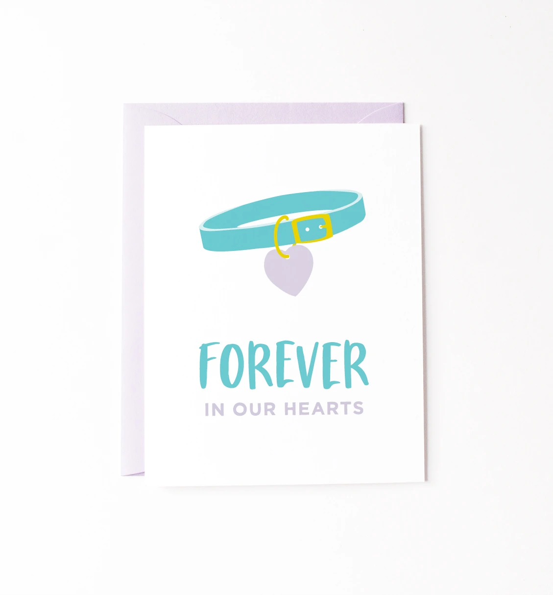 Graphic Anthology - GRA Forever In Our Hearts, Pet Sympathy Card