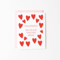 Graphic Anthology - GRA Glad You're Mine Grandma Card