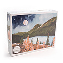 One Canoe Two Letterpress - OC 1 Canoe 2 - Alpine Moon 1,000 Piece Puzzle