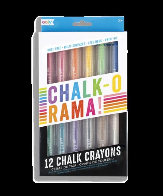 OOLY - OO Chalk-o-rama! Chalk Crayons