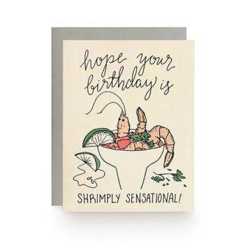 Wild Ink Press - WI Shrimply Sensational Birthday Card