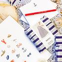 Gus and Ruby Letterpress - GR Sail Away Gift Box