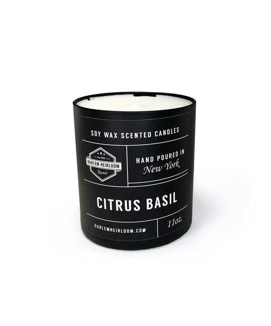 Harlem Heirloom - HAH Harlem Heirloom Citrus Basil Candle