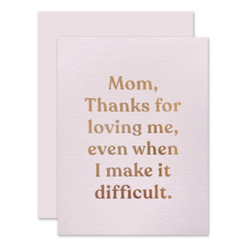 The Social Type - TST Loving Mom Thank You Card