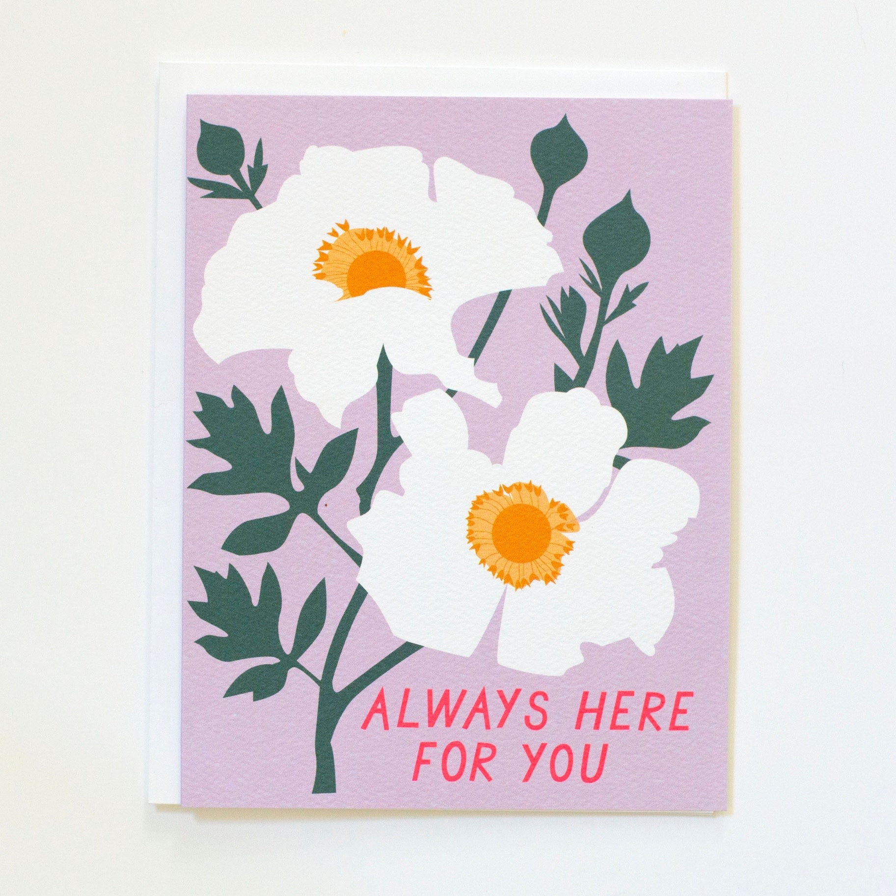 Banquet Atelier and Workshop - BAW Always Hear for You Floral Card