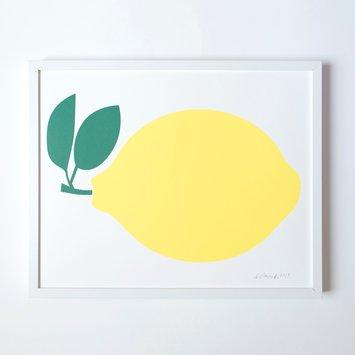 Banquet Atelier and Workshop - BAW Lemon Print, 40 x 50 cm