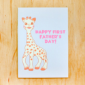 Gold Teeth Brooklyn - GTB First Father's Day Sophie the Giraffe Card