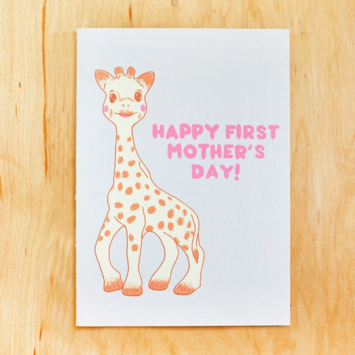 Gold Teeth Brooklyn - GTB First Mother's Day Sophie the Giraffe Card