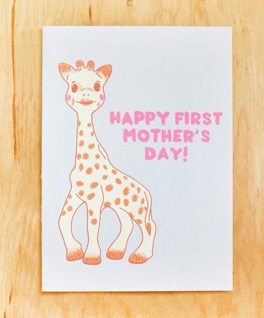 Gold Teeth Brooklyn - GTB First Mother's Day Sophie the Giraffe Card