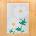 Gold Teeth Brooklyn - GTB White Poppy Blank Card