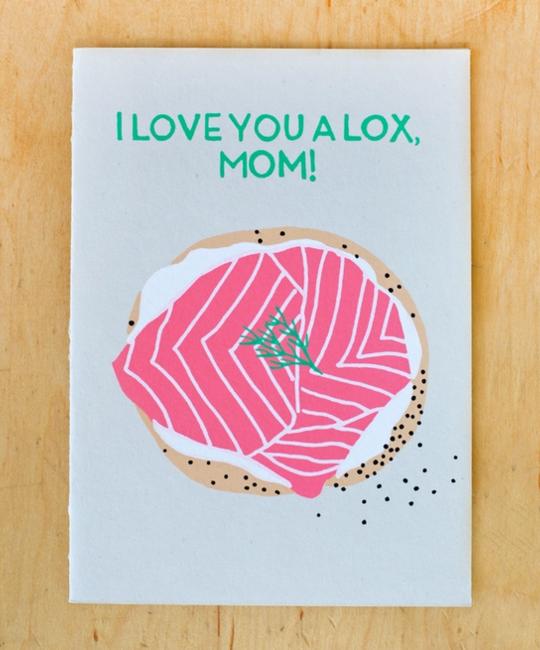 Gold Teeth Brooklyn - GTB Mom Lox Card