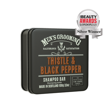 The Scottish Fine Soaps Company - SFS Thistle & Black Pepper Shampoo Bar