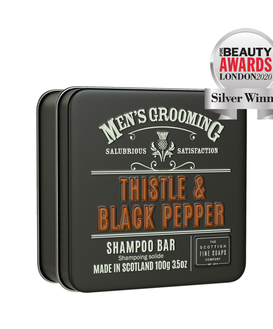 The Scottish Fine Soaps Company - SFS Thistle & Black Pepper Shampoo Bar