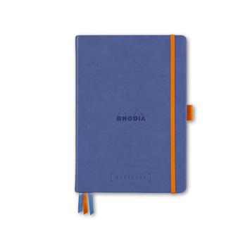 Rhodia - RHO Rhodia Goalbook Notebook A5 Sapphire Dot Grid