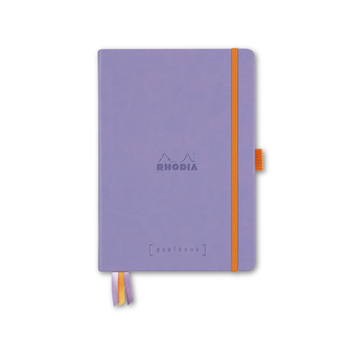 Rhodia - RHO Rhodia Goalbook Notebook A5 Iris Dot Grid