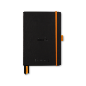 Rhodia - RHO Rhodia Goalbook Notebook A5 Black Dot Grid