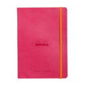 Rhodia - RHO Rhodia Goalbook Notebook A5 Raspberry Dot Grid