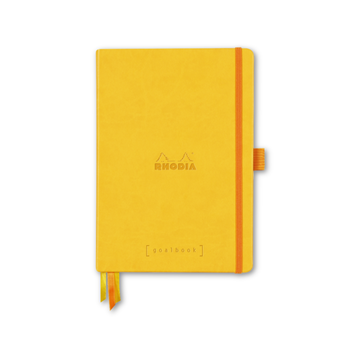Rhodia - RHO Rhodia Goalbook Notebook A5 Yellow Dot Grid