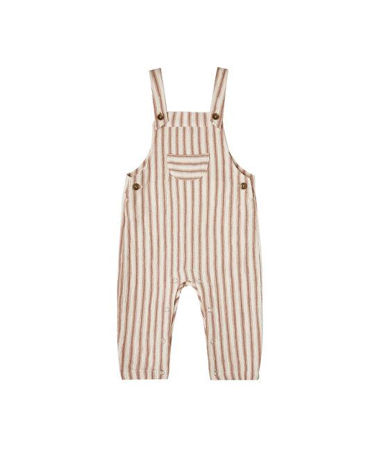 Rylee + Cru - RC Rylee + Cru Amber Striped Baby Overalls