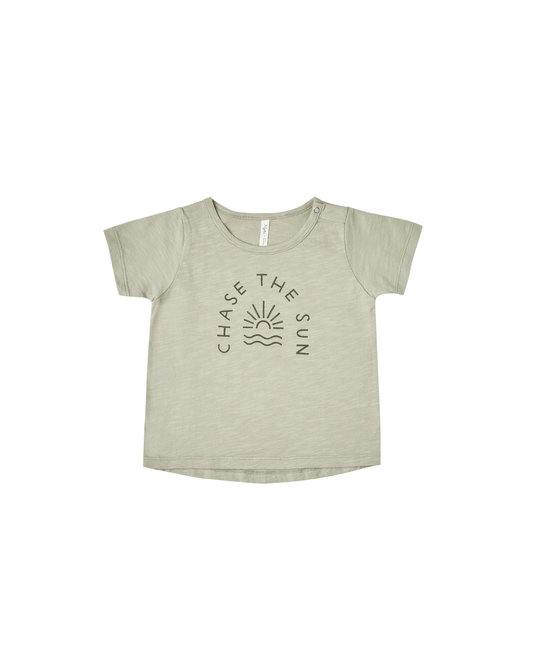 Rylee + Cru - RC RC BA - Chase the Sun Tee in Sage