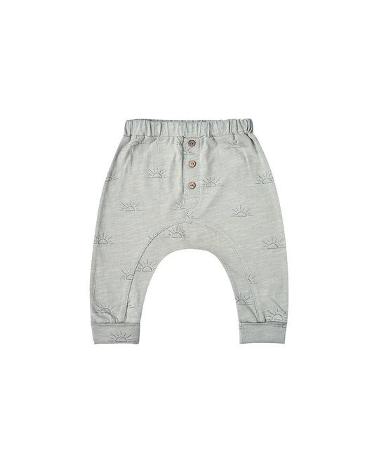 Rylee + Cru - RC RC BA - Sunrise Sub Baby Pant in Blue Fog