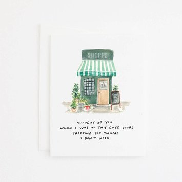 Party Sally - PSA Cute Shop Thinking of You Card
