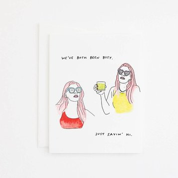 Party Sally - PSA Busy Friend Card