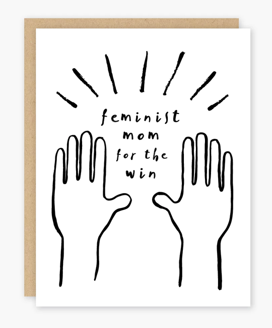 Party of One - POO Feminist Mom Card