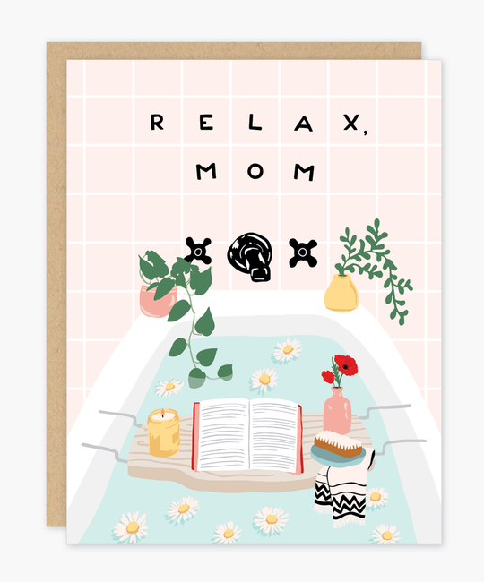 Party of One - POO Relax Mom Card