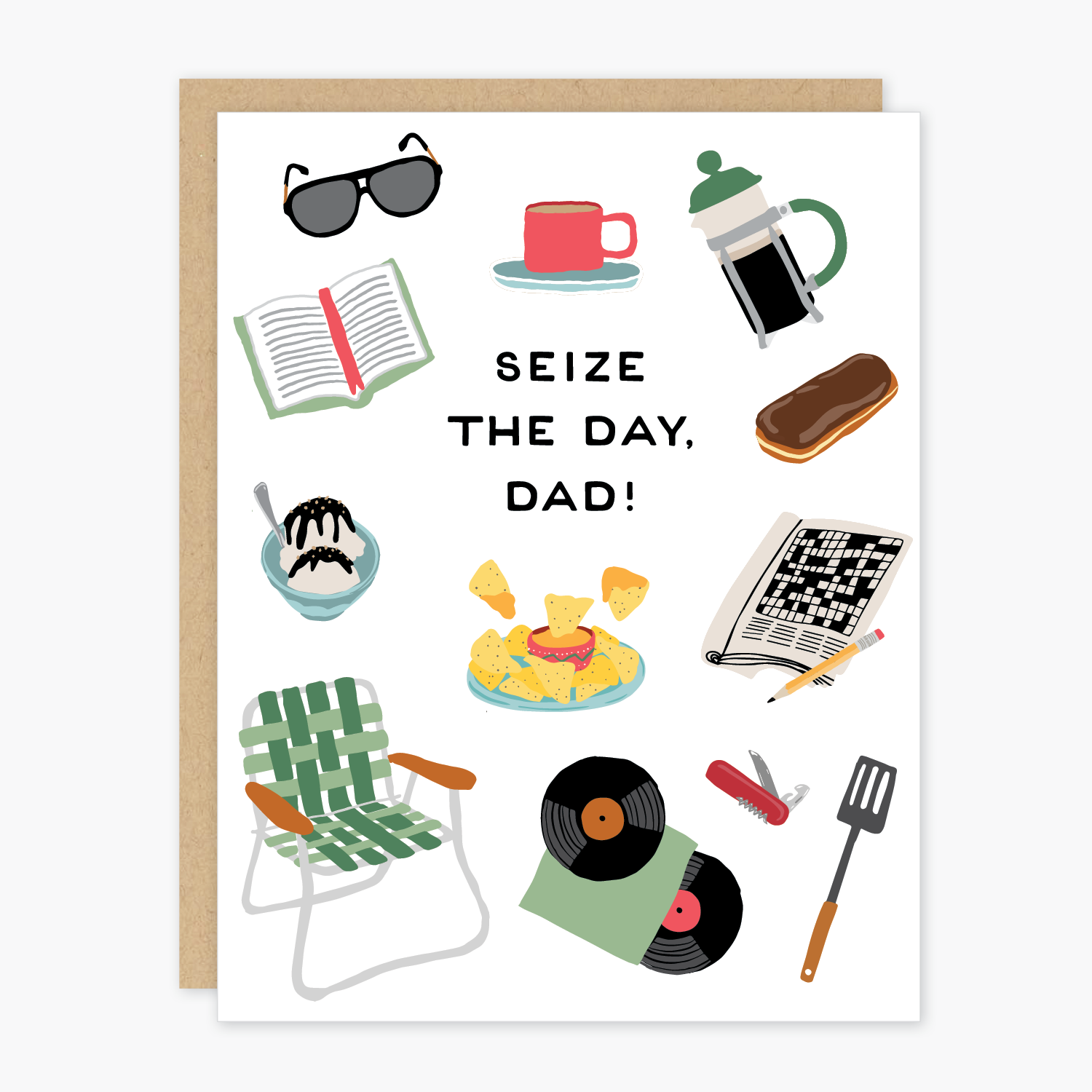 Party of One - POO Seize the Day, Dad Card