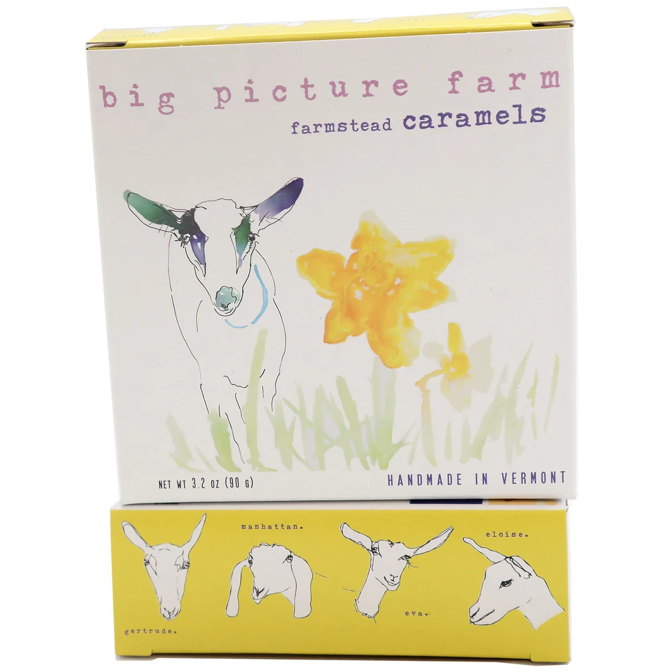 big picture farm Sea salt and vanilla goatsmilk caramels