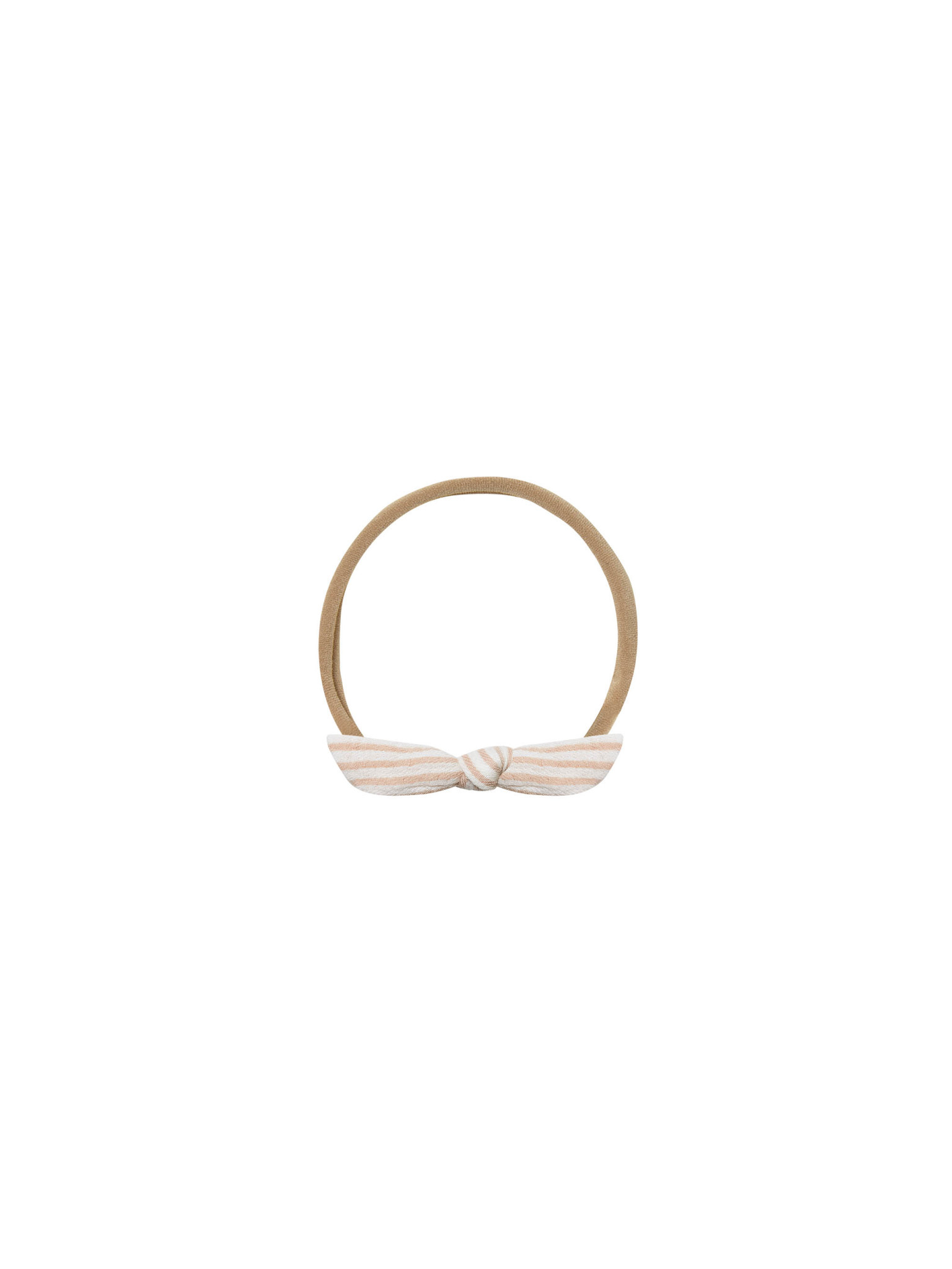 Quincy Mae - QM Quincy Mae Little Knot Headband in Petal Stripe