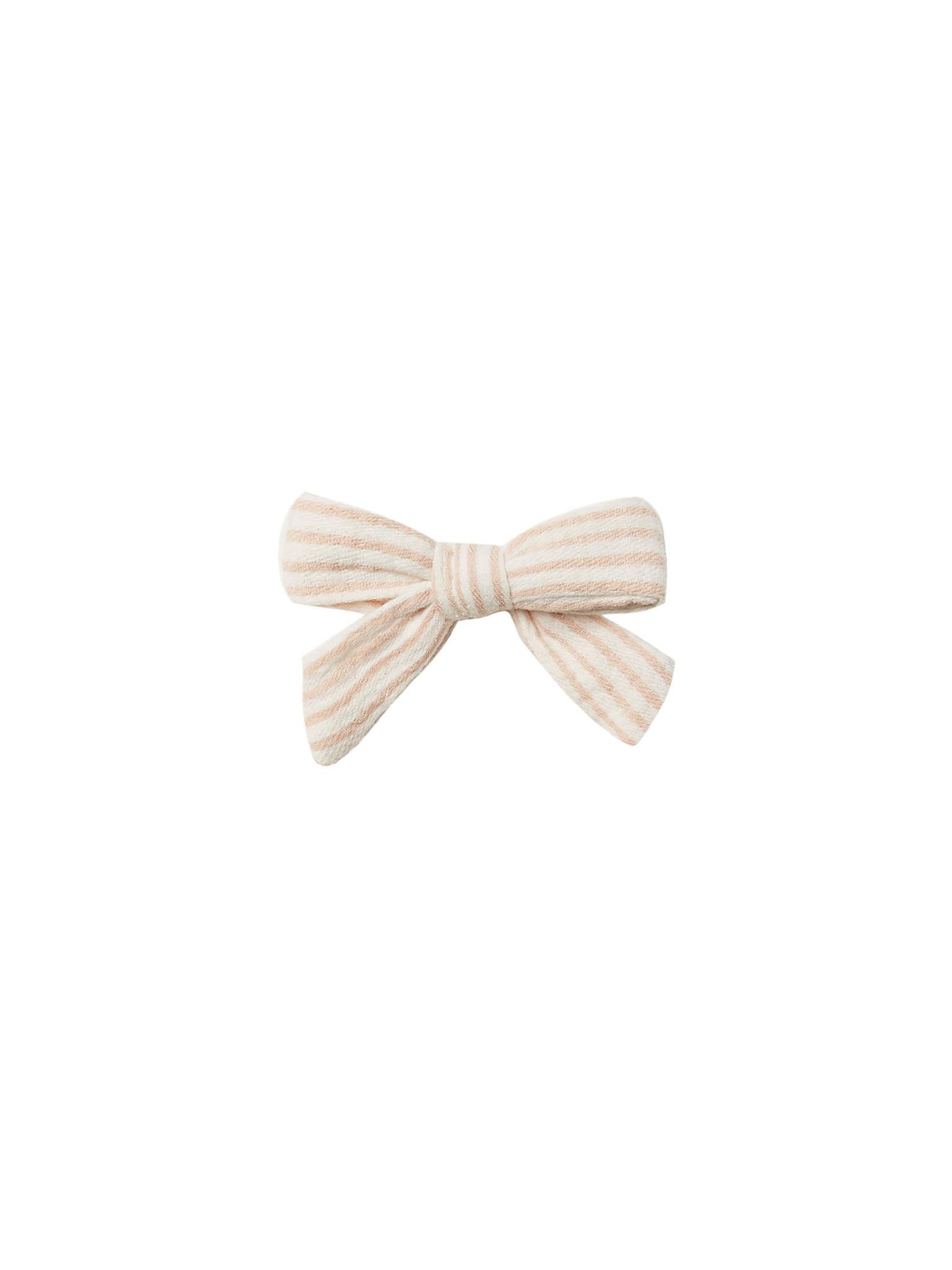 Quincy Mae - QM QM BA - Petal Stripe Schoolgirl Bow
