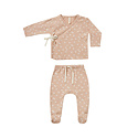 Quincy Mae - QM Quincy Mae Blossom Petal Wrap Top + Footed Pant Set