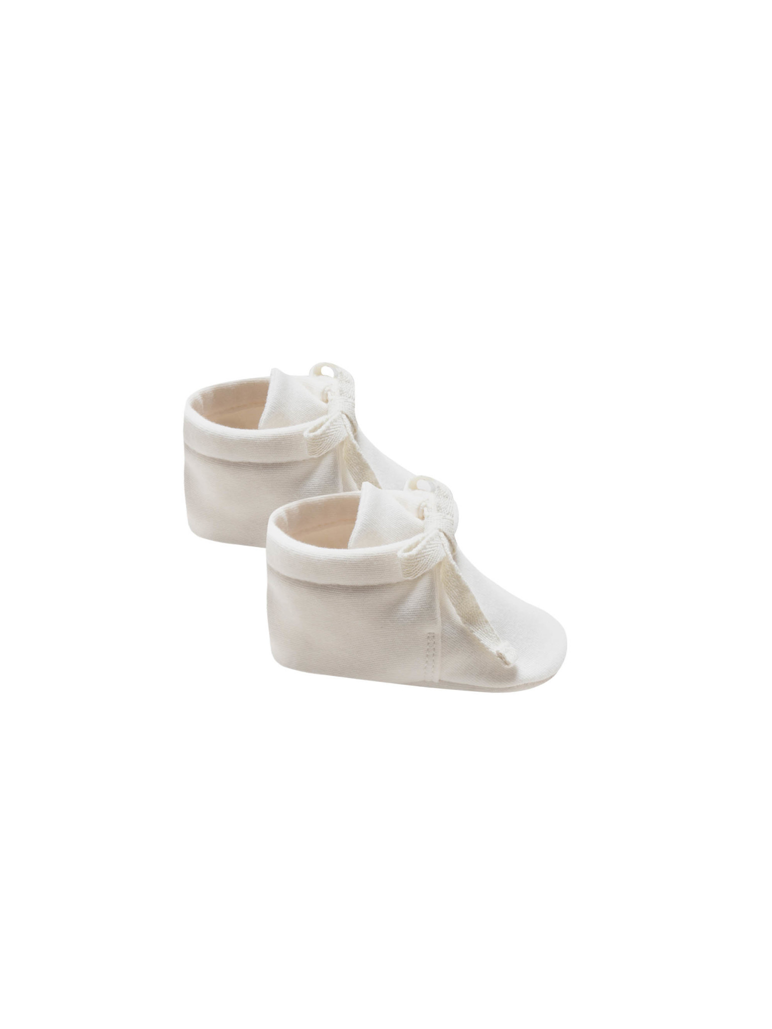 Quincy Mae - QM Quincy Mae Baby Booties in Ivory