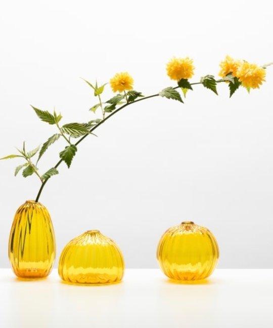 Little Tomato Glass - LTG Tall Buddies Vase, Gold
