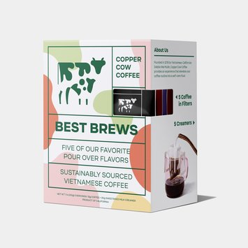 Copper Cow Coffee - CCC Copper Cow Coffee Best Brews Variety, Pack of 5