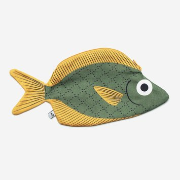 Don Fisher Don Fisher Green Soldier Fish Pouch